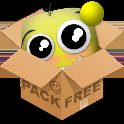 程式庫與試用程式App|Emoticon pack, Giraffe LOGO-3C達人阿輝的APP