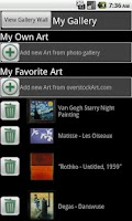 Screenshot of overstockArt.com Oil Paintings