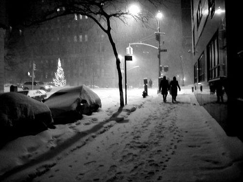 New York City Snow Wallpaper Android App Screenshot