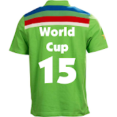 Cricket World cup 2015 Jersey