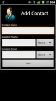 Screenshot of 3D Contact List