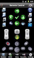 Screenshot of Media Center Remote Control
