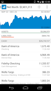 Personal Capital Finance Screenshot 1