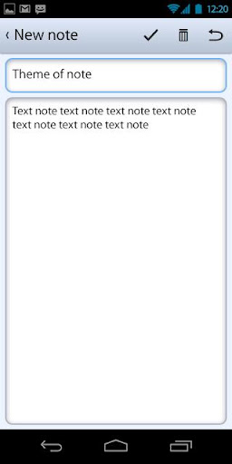 Notebook With Categories