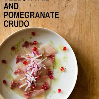 Yellowtail & Pomegranate Crudo