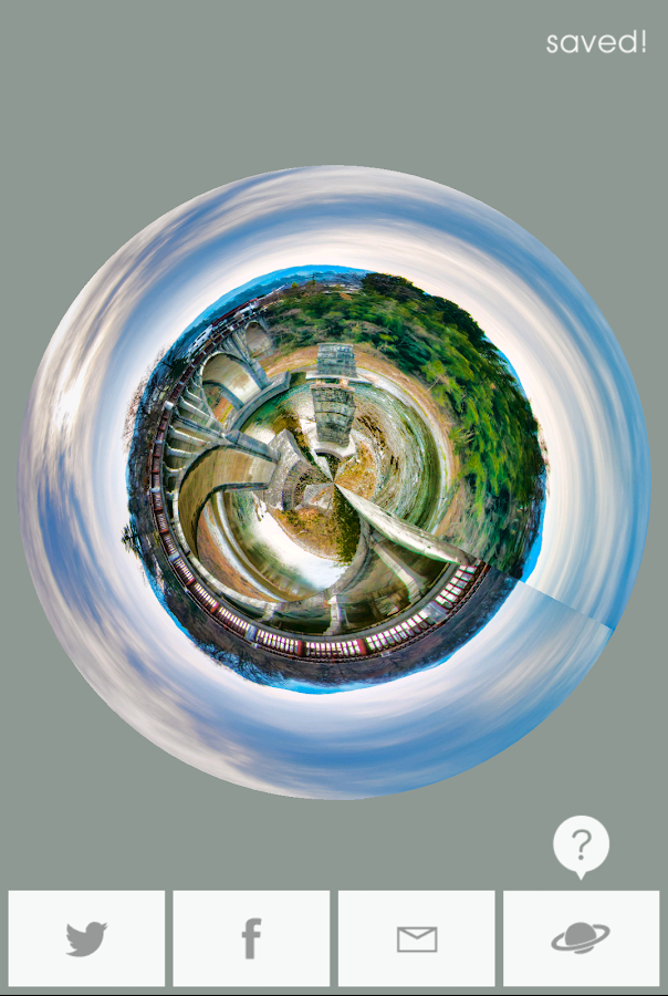 Planet camera- screenshot