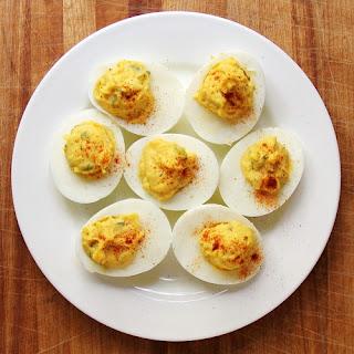 Slap Ya Mama's Deviled Eggs.
