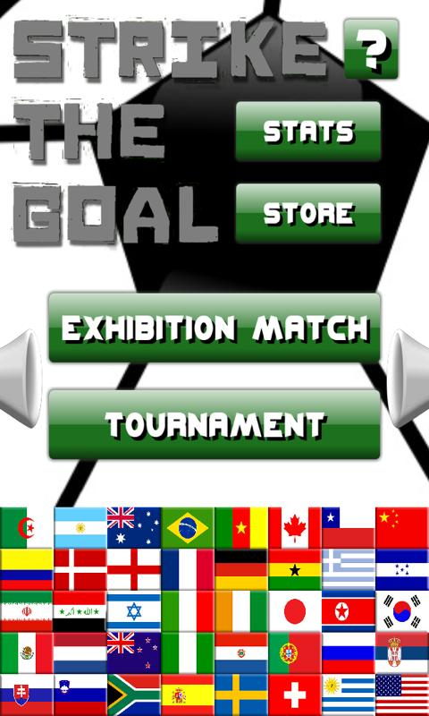 Strike The Goal -Soccer Themed Physics Puzzle Game- screenshot
