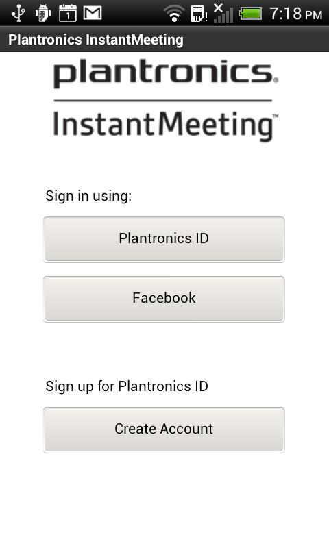 InstantMeeting - screenshot