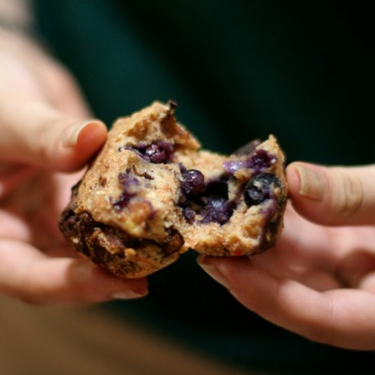 Moist Low-Calorie Blueberry Muffins Recipe