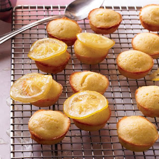 Lemon-Lime Tea Cakes.