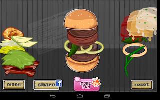 Screenshot of Hamburger Designer