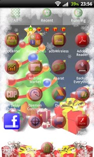 GO Launcher EX Christmas Tree - screenshot thumbnail