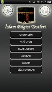 İslami Bilgiler Testi