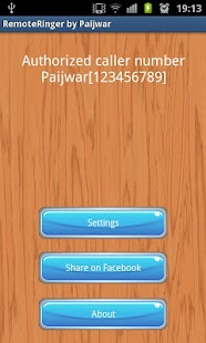 Remote Ringer (FREE) - Paijwar - screenshot thumbnail