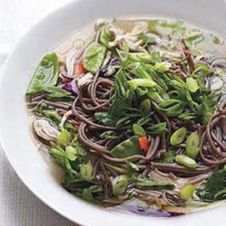 Soba Noodle Soup.
