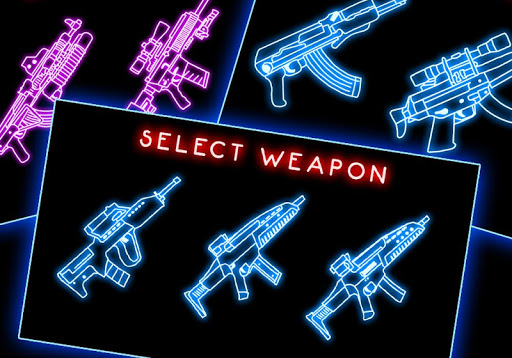 Neon Gan Shooter Weapon
