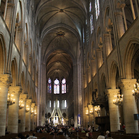 Notre Dame by Michael Lunn - Buildings & Architecture Places of Worship (  )