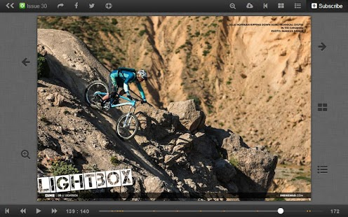 IMB Free Mountain Bike Mag - screenshot thumbnail