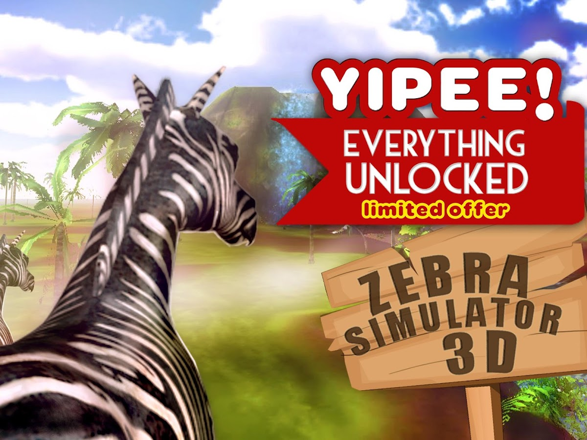 Uncategorized Zebra Game zebra simulator 3d wildlife android apps on google play screenshot