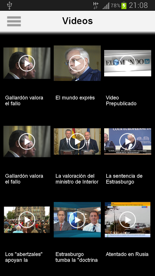 El Mundo - screenshot
