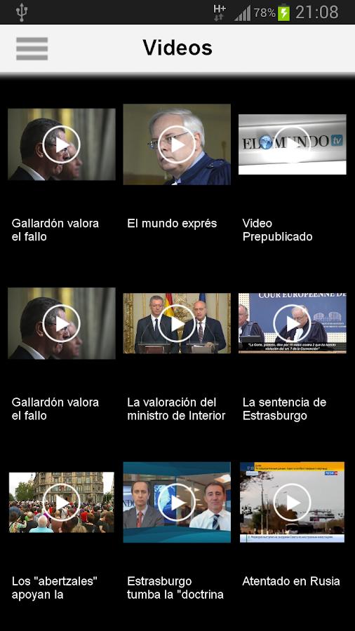 El Mundo- screenshot