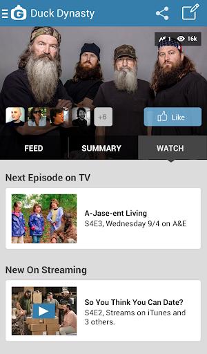 GetGlue - App for TV & Movies