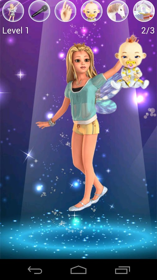 Sweet Little Talking Princess - screenshot