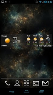 AmberHome Weather free - screenshot thumbnail