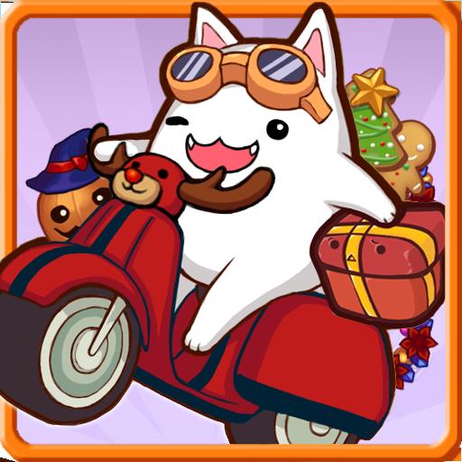 寄付天使ニャングン:猫サンタ 街機 App LOGO-APP試玩