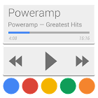 Skin for Poweramp v2 Now/Card UI icon