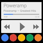 Poweramp skin 5in1 Now/Card UI v1.1.4