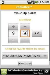 radioBee Lite - radio app - screenshot thumbnail