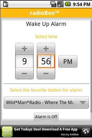 radioBee Lite - radio app - screenshot