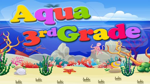 Aqua Third Grade Free
