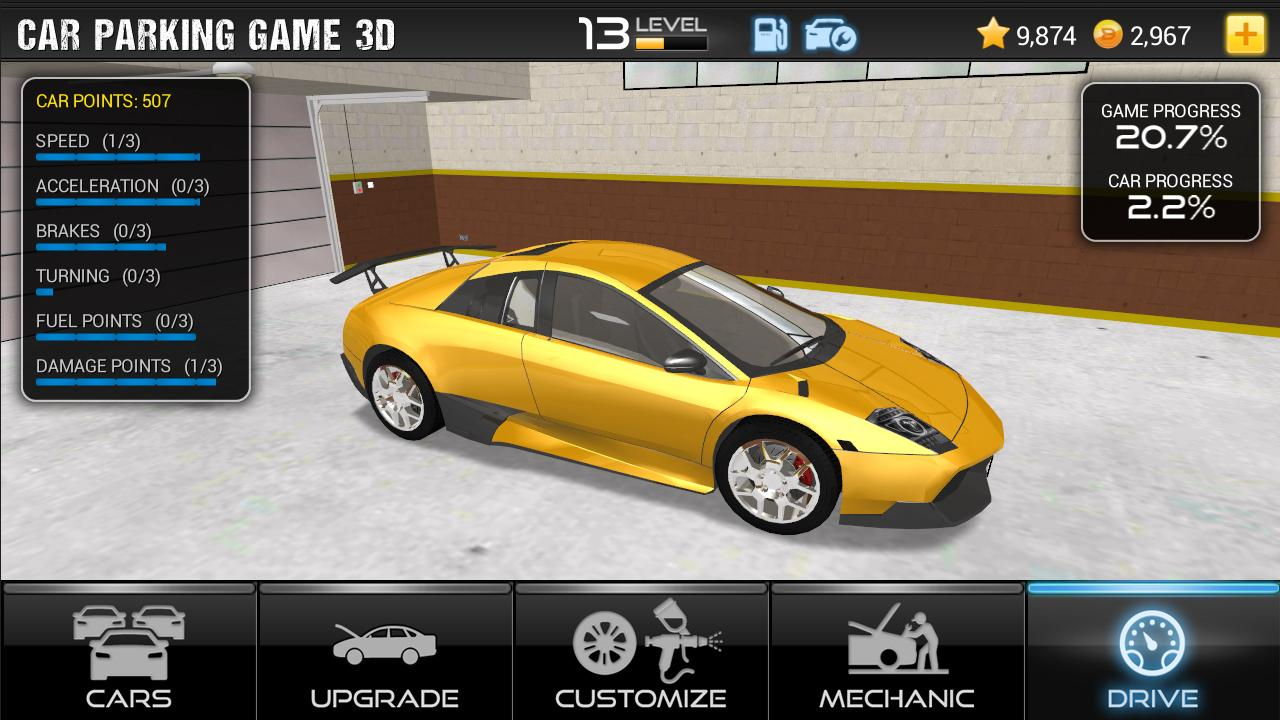 Car Games Online Parking D