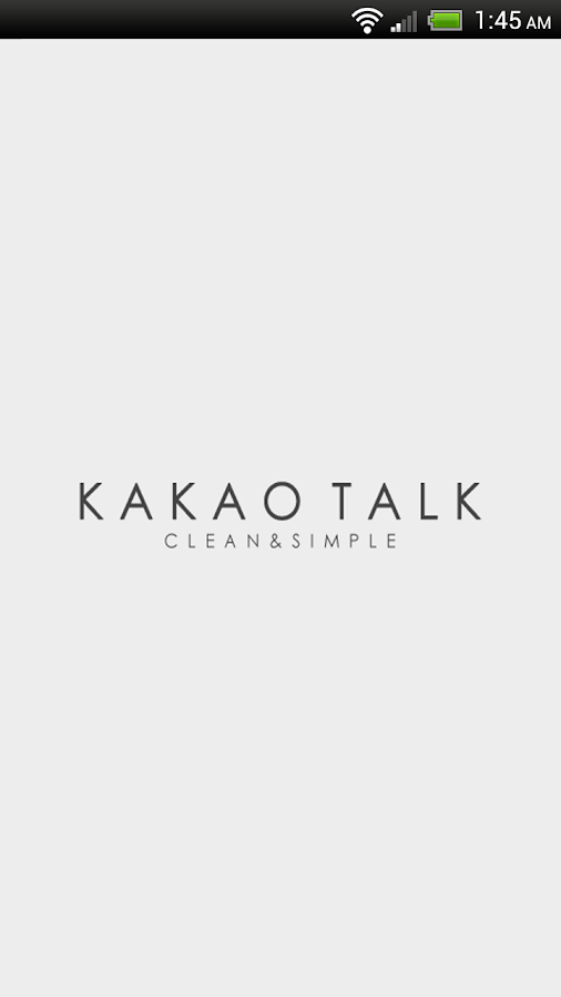 KakaoTalk Theme - Simple Kakao - screenshot