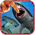 Shark Fingers! Deadly Aquarium icon