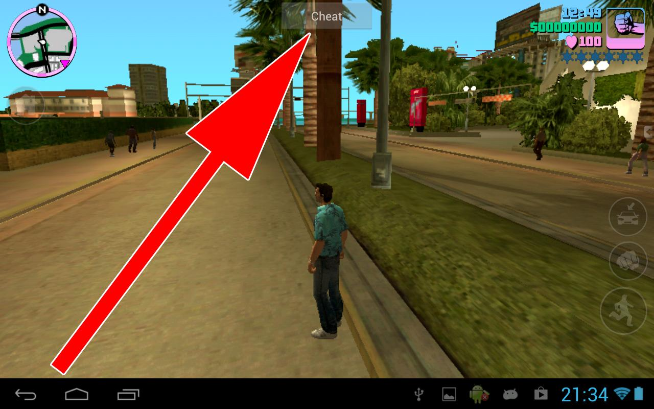 GTA Vice City Cheater - screenshot