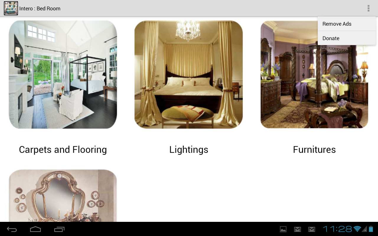 Intero Interior Design Gallery Screenshot