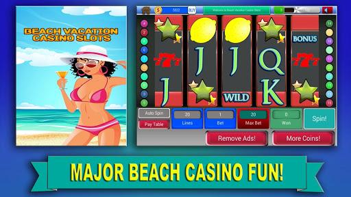 海灘度假賭場老虎機