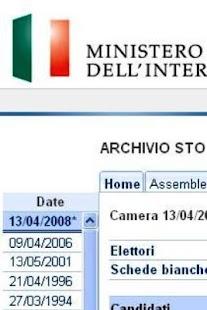 Risultati Elezioni - screenshot thumbnail