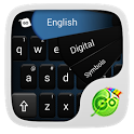 GO Keyboard Simple Black Theme icon