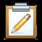 Clipboard + icon