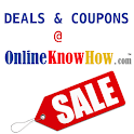 Coupons – OnlineKnowHow.com logo