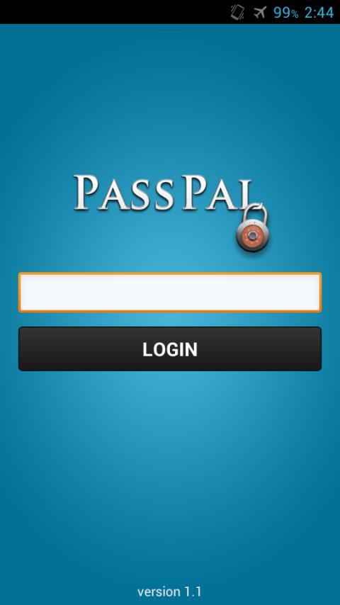 PassPal- screenshot