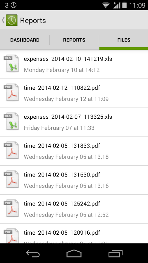 Timesheet - Easy Time Tracking - screenshot
