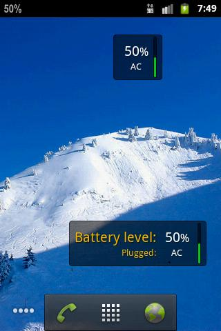 Pure Battery Widget v1.4