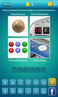 4 Pics 1 Word: What's The Word- screenshot thumbnail