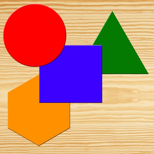 颜色和形状拼图 - 宝宝 教育 App LOGO-硬是要APP